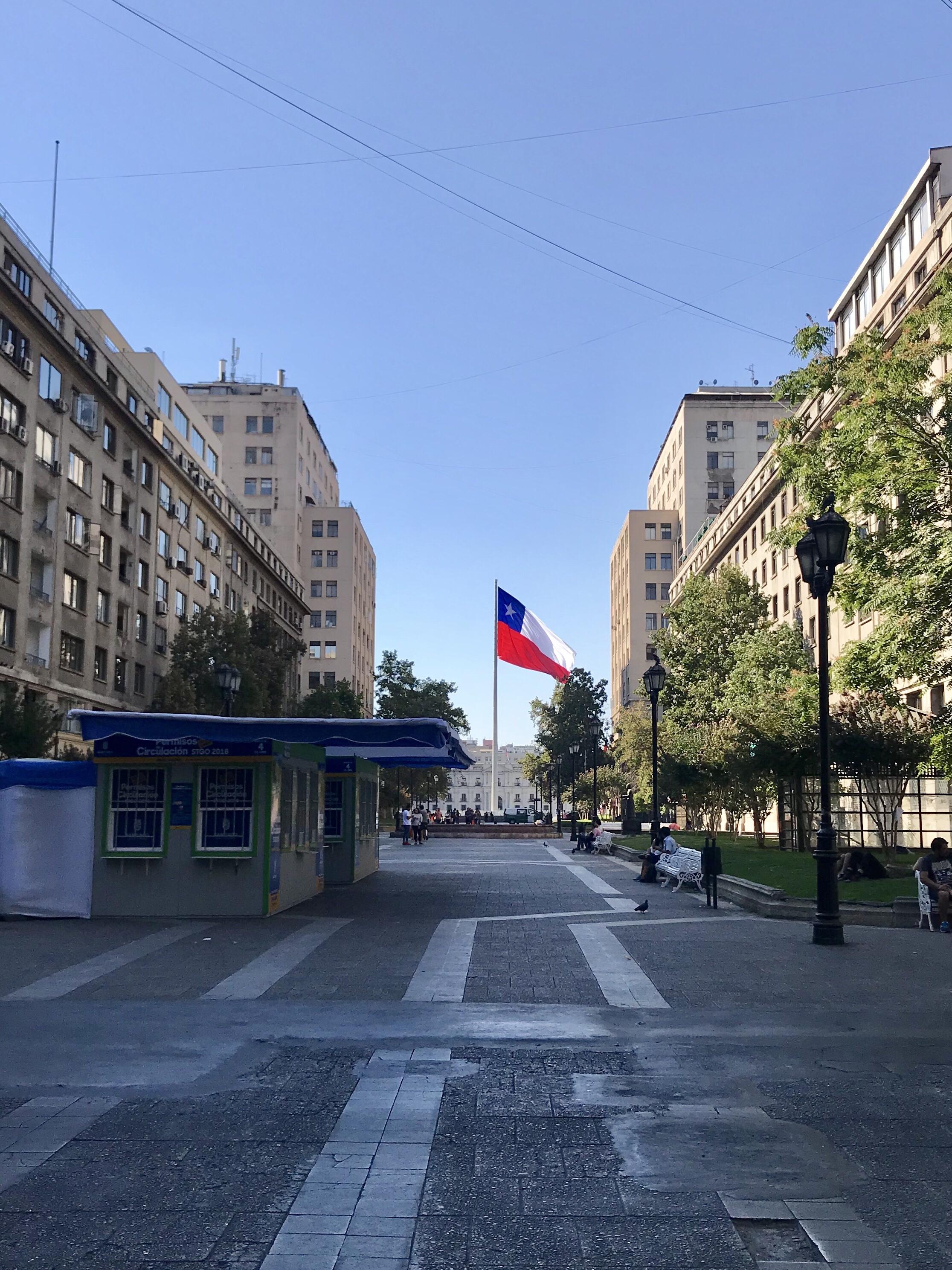 Santiago – stolica Chile
